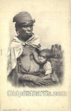 afr001671 - Biskra - Femme Nomade African Nude Nudes Postcard Post Card