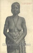 afr001674 - Afrique Occidentale Femme Toucouieur African Nude Nudes Postcard Post Card