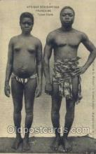 afr001675 - Afrique Occidentale Francaise Types Ebrie African Nude Nudes Postcard Post Card