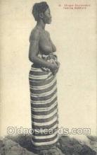 afr001678 - Afrique Occidentale Francaise - Femme Bambara African Nude Nudes Postcard Post Card