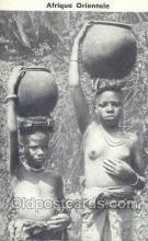afr001679 - Afrique Orientale African Nude Nudes Postcard Post Card