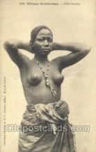 afr001683 - Afrique Occidentale Fille Ouolof African Nude Nudes Postcard Post Card