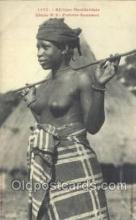 afr001684 - Afrique Occidentale Etude No. 6 Femme Soussou African Nude Nudes Postcard Post Card