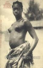 afr001685 - Afrique Occidentale Etude No.150 Jeune Fanti African Nude Nudes Postcard Post Card