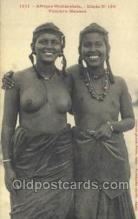 afr001694 - Afrique Occidentale Etude No.132 Femmes Maures African Nude Nudes Postcard Post Card