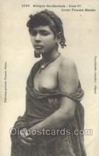 afr001695 - Afrique Occidentale Jeune Femme Maure African Nude Nudes Postcard Post Card
