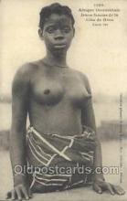 afr001700 - Afrique Occidentale Jeune Femme de la Cote de Kroo African Nude Nudes Postcard Post Card