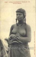 afr001705 - Afrique Occidentale Etude No 133 Femme Maure African Nude Nudes Postcard Post Card