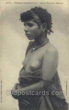 afr001706 - Afrique Occidentale Jeune Femme Maure African Nude Nudes Postcard Post Card