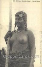 afr001708 - Afrique Occidentale Femme Maure African Nude Nudes Postcard Post Card