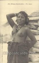 afr001717 - Afrique Occidentale Fille Maura African Nude Nudes Postcard Post Card