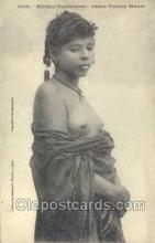 afr001718 - Afrique Occidentale Jeume Femme Maura African Nude Nudes Postcard Post Card