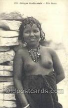 afr001719 - Afrique Occidentale Fille Maura African Nude Nudes Postcard Post Card