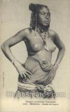 afr001721 - Afrique Occidentale Francaise Senegal African Nude Nudes Postcard Post Card