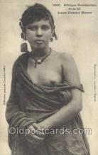 afr001728 - Afrique Occidentale Jeume Femme Maura African Nude Nudes Postcard Post Card
