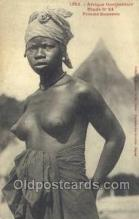 afr001730 - Afrique Occidentale Etude No 24 Femme Soussou African Nude Nudes Postcard Post Card