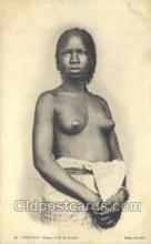 afr001731 - Senegal Jeune Femme du Goree African Nude Nudes Postcard Post Card