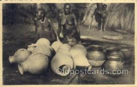 afr001734 - Ruanda African Nude Nudes Postcard Post Card