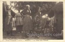 afr001739 - Afrique Occidentale Senegal Au Villiage dans Pintimite African Nude Nudes Postcard Post Card