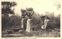 afr001740 - Afrique Occidentale Senegal A la Fontaine African Nude Nudes Postcard Post Card