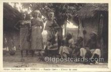 afr001741 - Afrique Occidentale Senegal - Famille Cerere African Nude Nudes Postcard Post Card