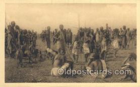 afr001744 - Ruanda African Nude Nudes Postcard Post Card