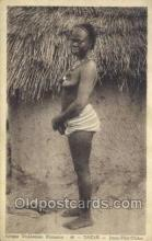 afr001745 - Afrique Occidentale Francaise 46 Dakar African Nude Nudes Postcard Post Card