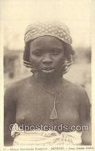 afr001747 - Afrique Occidentale Francaise Senegal Jeune Femme Cerere African Nude Nudes Postcard Post Card