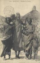 afr001748 - Senegal - Famille der Peulhs African Nude Nudes Postcard Post Card
