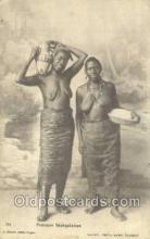 afr001749 - Femme Senegalaises African Nude Nudes Postcard Post Card