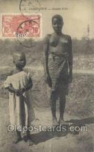 afr001750 - Casamance Jeunes Filles African Nude Nudes Postcard Post Card