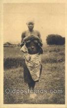 afr001757 - Ruanda African Nude Nudes Postcard Post Card