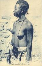 afr001760 - Femme Sennegalaise Dakar African Nude Nudes Postcard Post Card