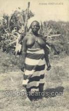 afr001764 - Femme Senegalaises African Nude Nudes Postcard Post Card
