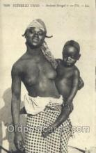 afr001767 - Madame Senegal African Nude Nudes Postcard Post Card