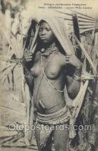 afr001768 - Afrique Occidentale Francaise Senegal African Nude Nudes Postcard Post Card