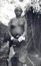 afr001771 - Ruanda African Nude Nudes Postcard Post Card