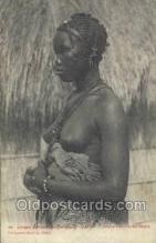 afr001772 - Senegal - Dakar African Nude Nudes Postcard Post Card