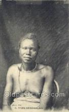afr001774 - Senegalais African Nude Nudes Postcard Post Card