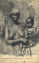 afr001776 - Senegal - Dakar African Nude Nudes Postcard Post Card