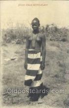 afr001779 - Jeune Fille Senegalaise African Nude Nudes Postcard Post Card