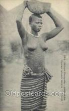 afr001783 - Guinee Soudan Malinke African Nude Nudes Postcard Post Card