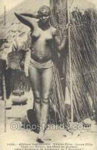 afr001787 - Cerere None - Jeune Fille African Nude Nudes Postcard Post Card