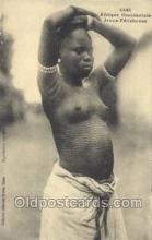 afr001788 - Jeune Feticheuse African Nude Nudes Postcard Post Card