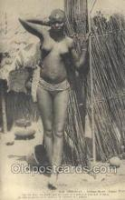 afr001789 - Cerere None - Jeune Fille African Nude Nudes Postcard Post Card