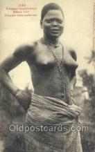 afr001790 - Femme Dahomeenne African Nude Nudes Postcard Post Card