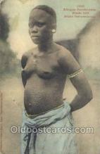 afr001792 - Jeune Dahomeenne African Nude Nudes Postcard Post Card