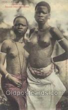 afr001796 - Jeune Dahomeenne African Nude Nudes Postcard Post Card