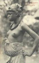 afr001804 - Afrique Occidentale Jeune Soussou African Nude Nudes Postcard Post Card