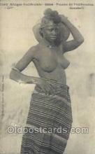 afr001805 - Afrique Occidentale Soudan African Nude Nudes Postcard Post Card